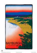 Bamburgh - Railway & Travel Poster